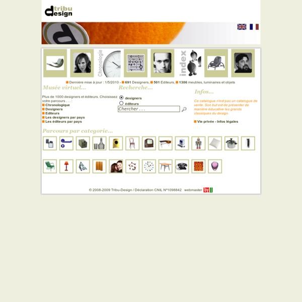 Arts Décoratifs et Design du 20ème siècle