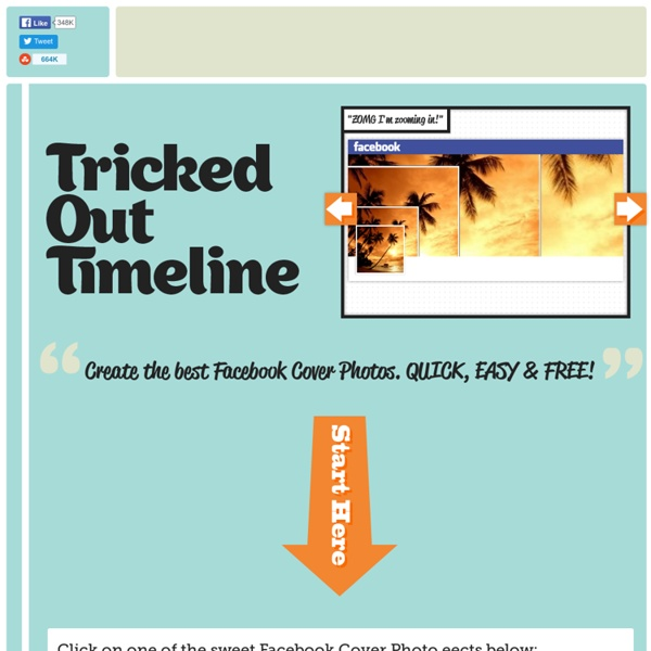 TrickedOutTimeline - Create the coolest Facebook Timelines, Cover Photos and Profile Photos, and wow your friends!