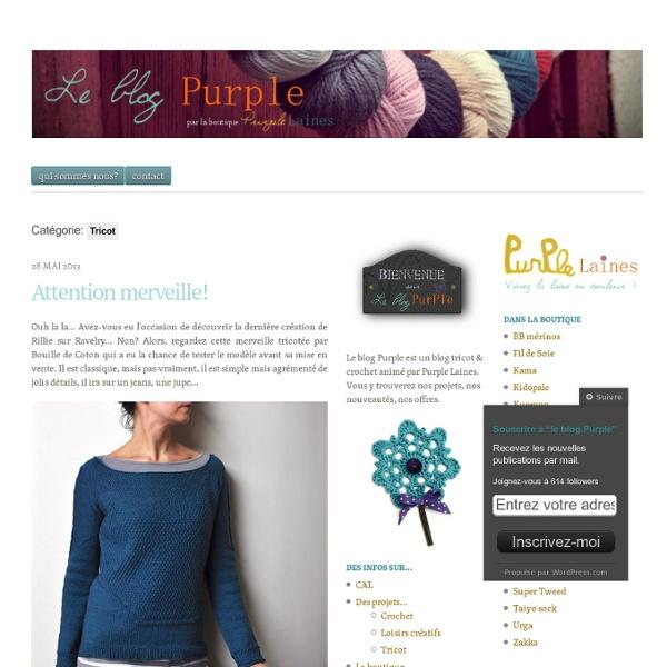 Le blog Purple