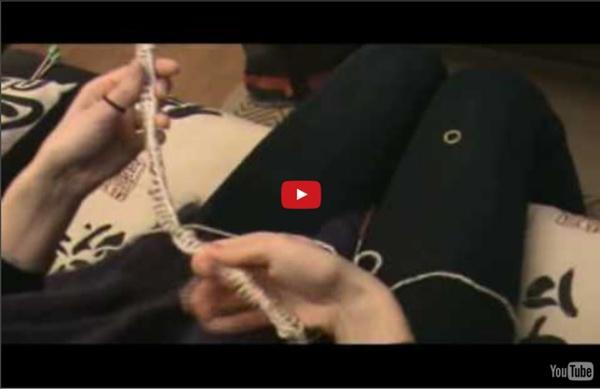 Tricot tricoter en rond avec une aiguille circulaire - Tricoter avec une aiguille circulaire ...