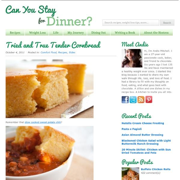Tried and True Tender Cornbread