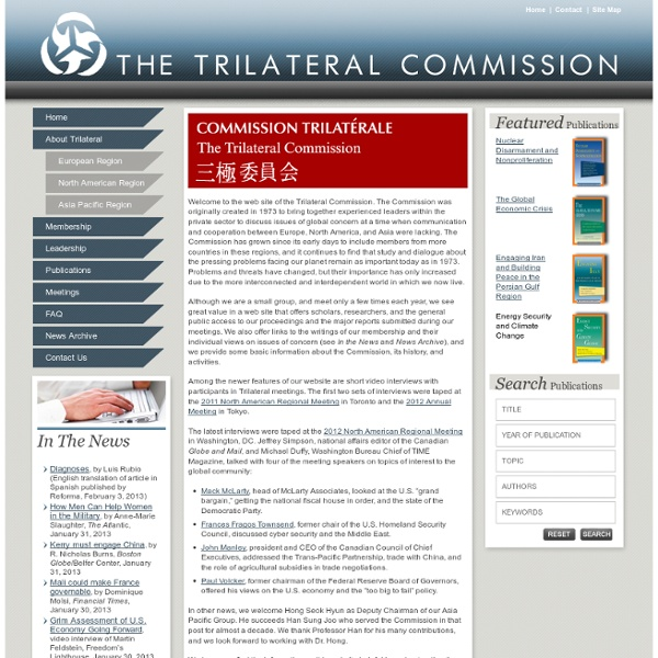 Site trilateral.org