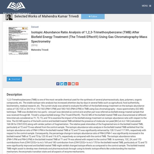 Impact on 1,2,3-Trimethoxybenzene (TMB)