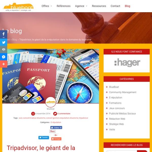 Tripadvisor, le géant de la e-réputation dans le domaine du tourisme