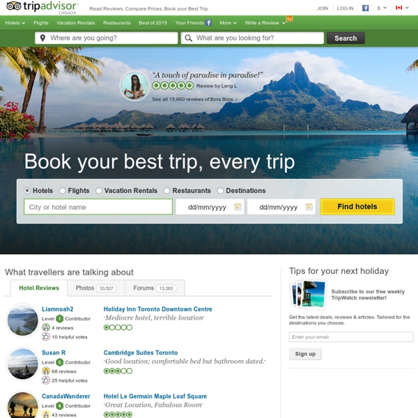 TripAdvisor: Read Reviews, Compare Prices & Book