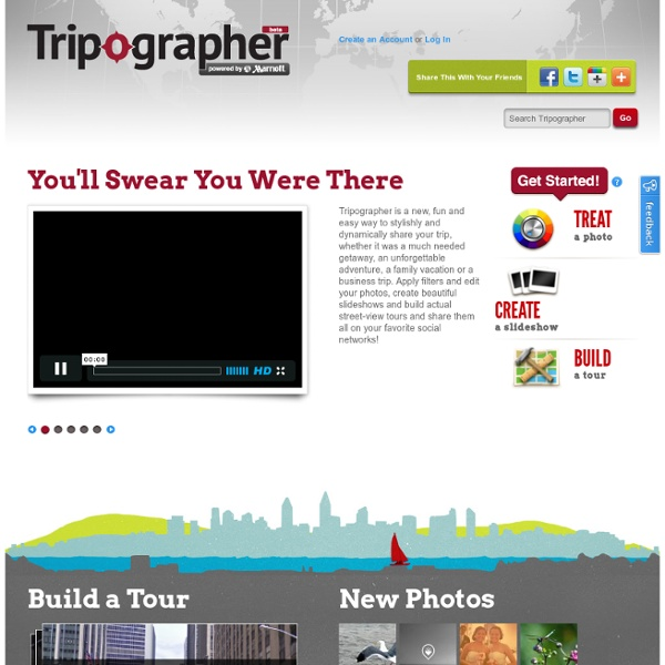 .: Tripographer - Powered By Marriott :.