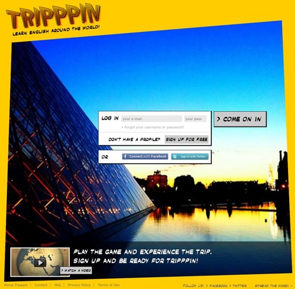 Tripppin - Learn English Around The World