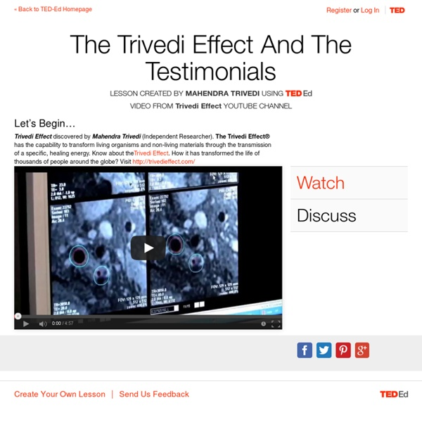 The Trivedi Effect Reviews And The Testimonials