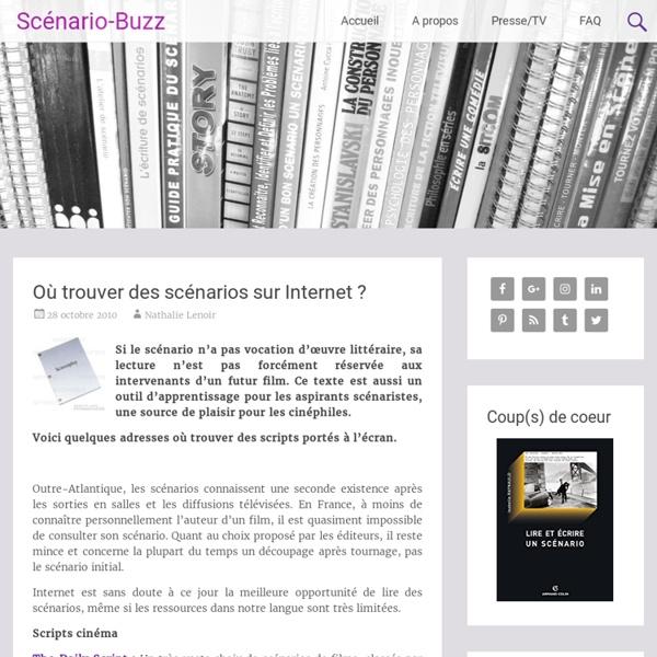 Où trouver des scénarios sur Internet ?