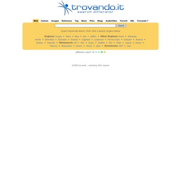 Trovando - your search friend