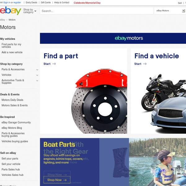 New & used cars, trucks, motorcycles, parts, accessories – eBay ...