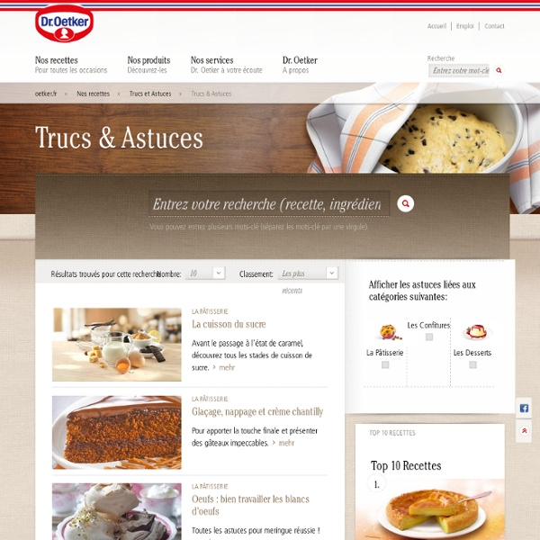 Trucs et astuces en cuisine : l'art du glaçage, du napage et de la chantilly - Dr. Oetker France