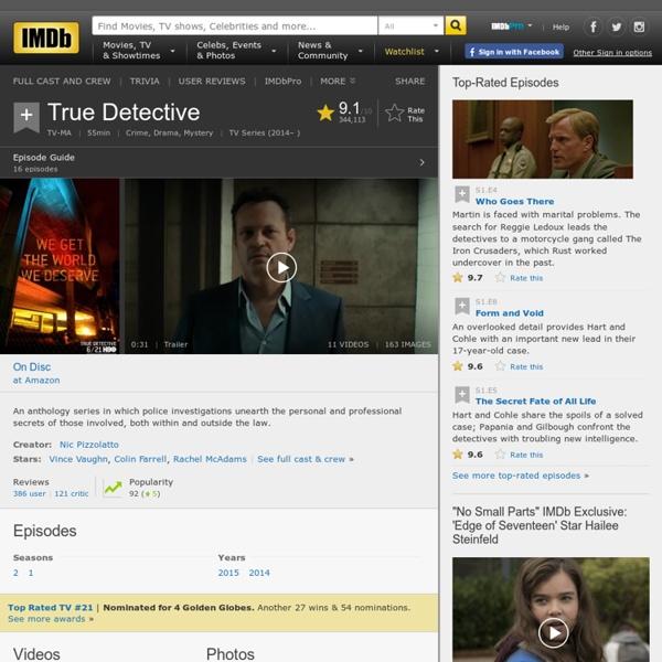 True Detective (TV Series 2014– )