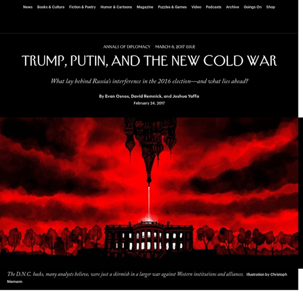 Trump, Putin, and the New Cold War