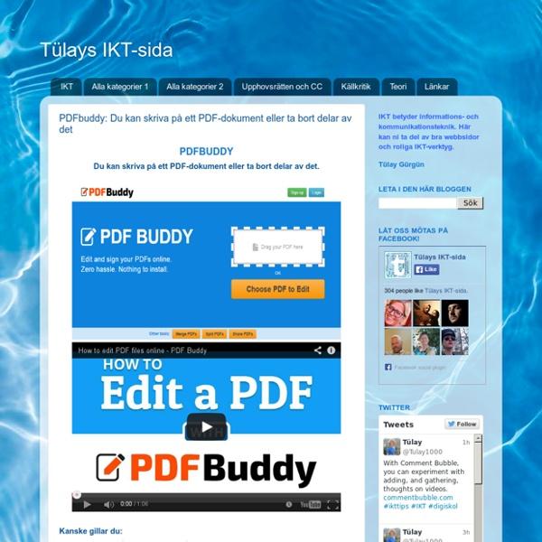 PDFbuddy: Du kan skriva på ett PDF-dokument eller ta bort delar av det