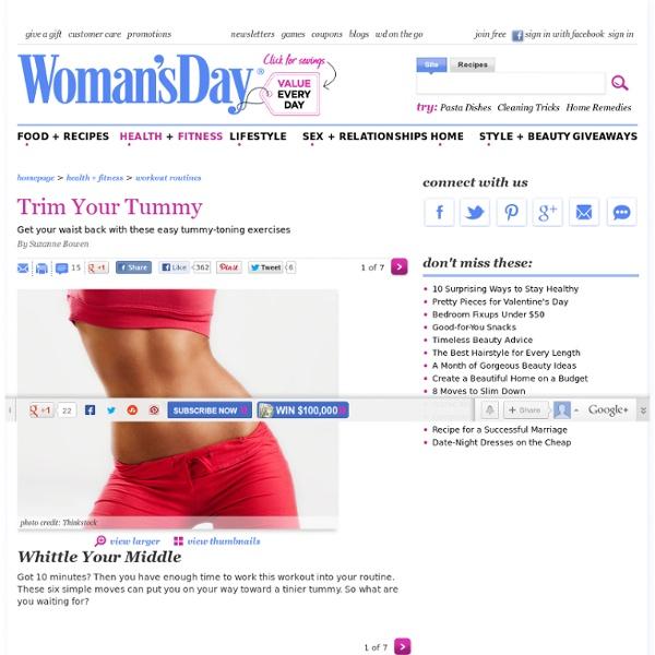 Trim Your Tummy
