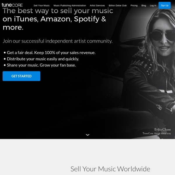 Sell Your Music Online - Digital Music Distribution