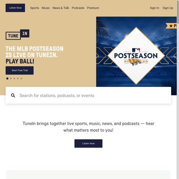 TuneIn: Listen to Online Radio, Music and Talk Stations