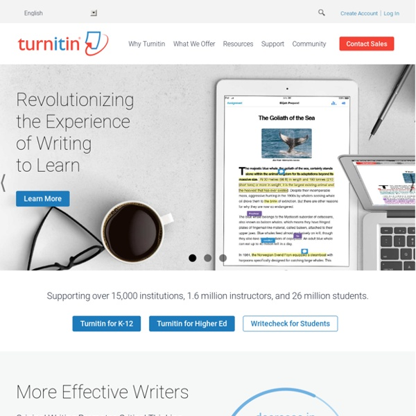 Turnitin - Home