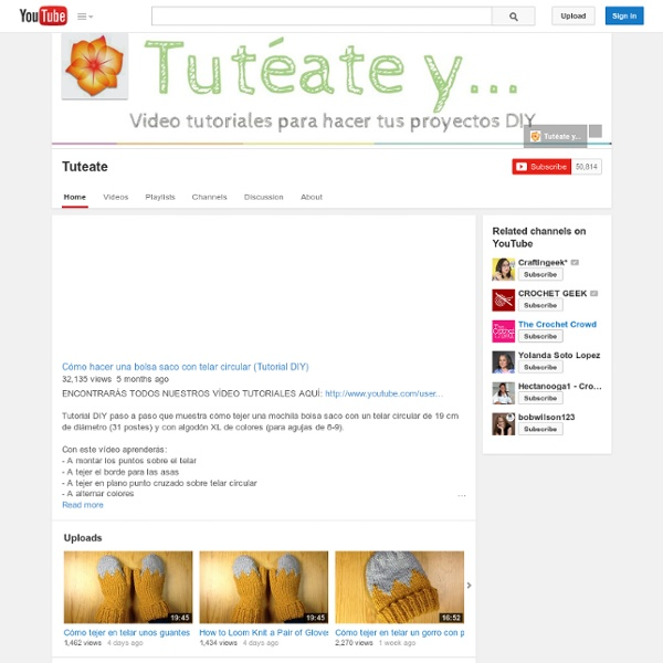 Vidéo Tricotin