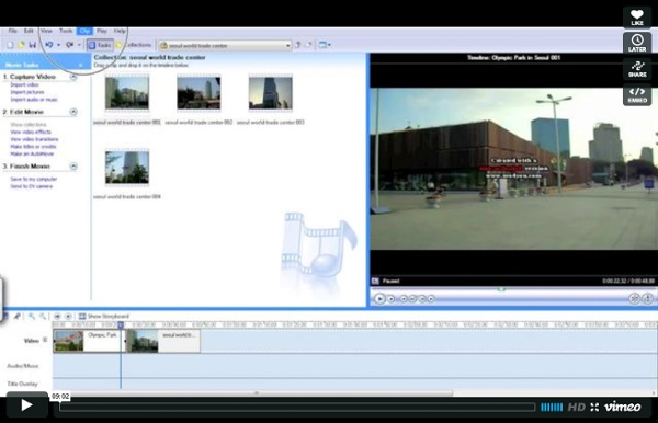 Tutorial: edición de videos en Windows Movie Maker