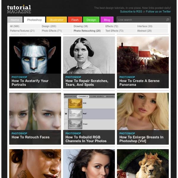 Tutorial Magazine / photoshop / photo_retouching