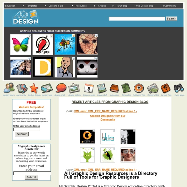 Graphic Design Tutorials : Graphic Design Software Directory & Portal for Graphics Tips : Desktop Publishing Resources & Graphic Design Links