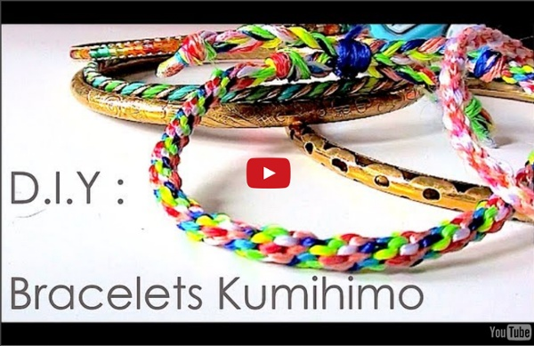 tutoriel diy comment faire des bracelets avec la technique de kumihimo pearltrees. Black Bedroom Furniture Sets. Home Design Ideas