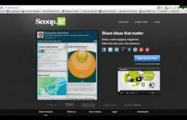 Tutoriel Scoop-it