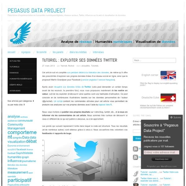 Tutoriel : exploiter ses données Twitter
