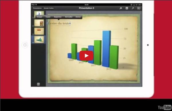 Tutoriel : Réaliser une présentation avec Keynote