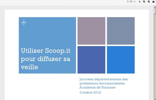 Tutoriel Scoop-it
