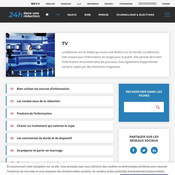 24H dans une rédaction : TV, Radio, Web, Presse