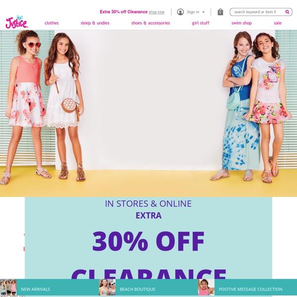 Tween clothing stores online