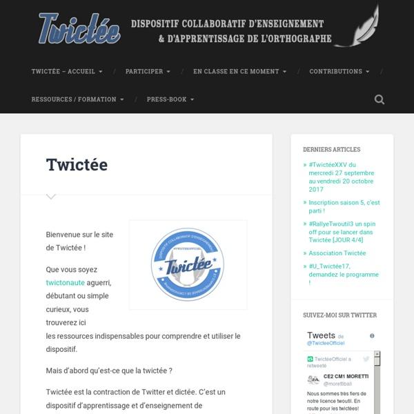 Twictée -