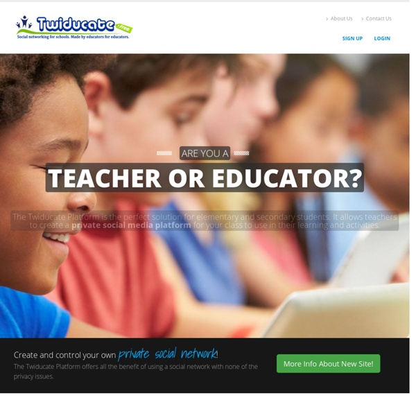 Twiducate - Social Networking For Schools