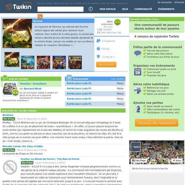 Twikin - Réseau ludique