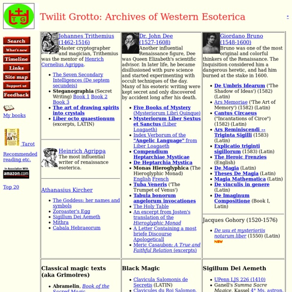Esoteric Archives