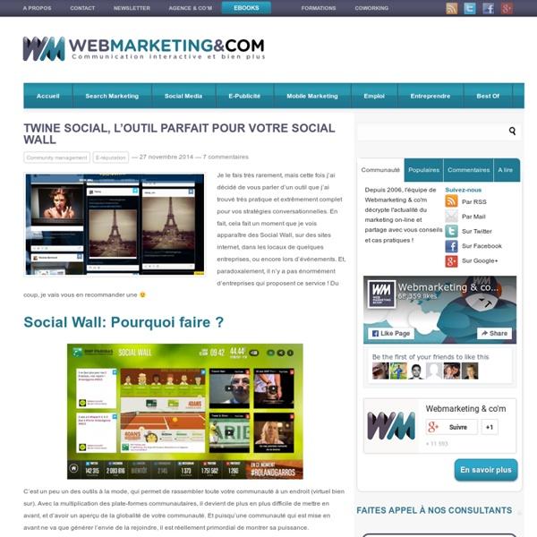 Twine Social, l'outil parfait pour votre Social Wall