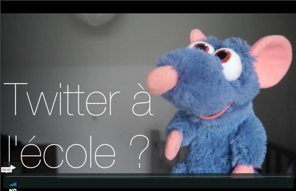 Twitter à l'école from Le maître on Vimeo