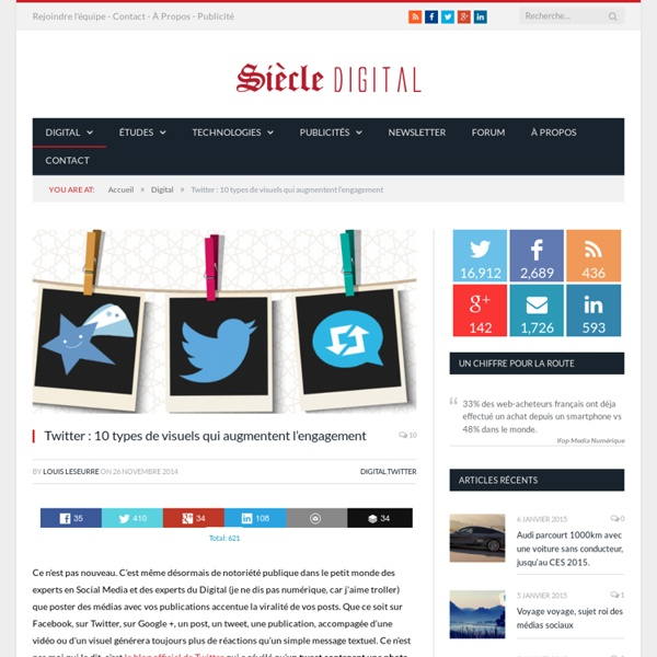 Twitter : 10 types de visuels qui augmentent l'engagement