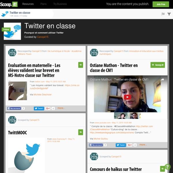 Twitter en classe