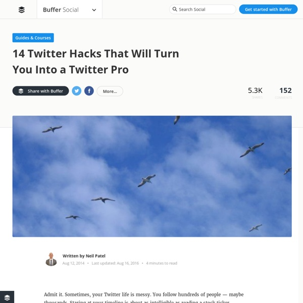 15 Twitter Hacks That Will Turn You Into a Twitter Ninja