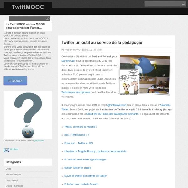 Twitter un outil au service de la pédagogie
