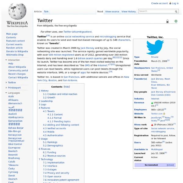Twitter - Wiki