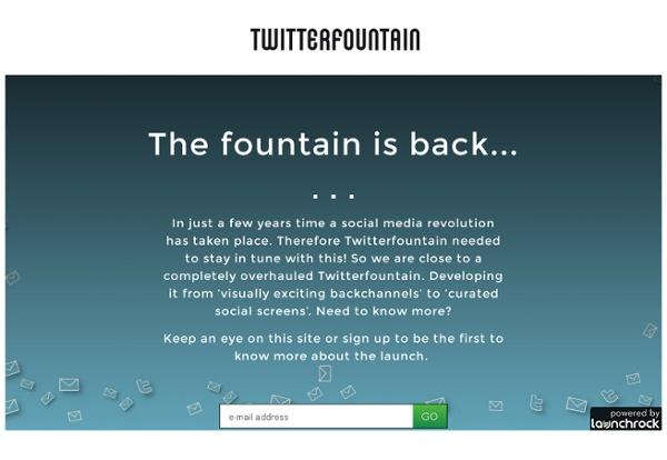 Twitterfountain