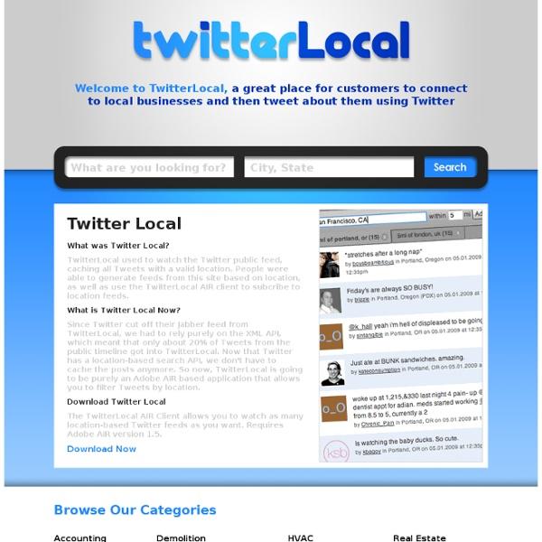 TwitterLocal