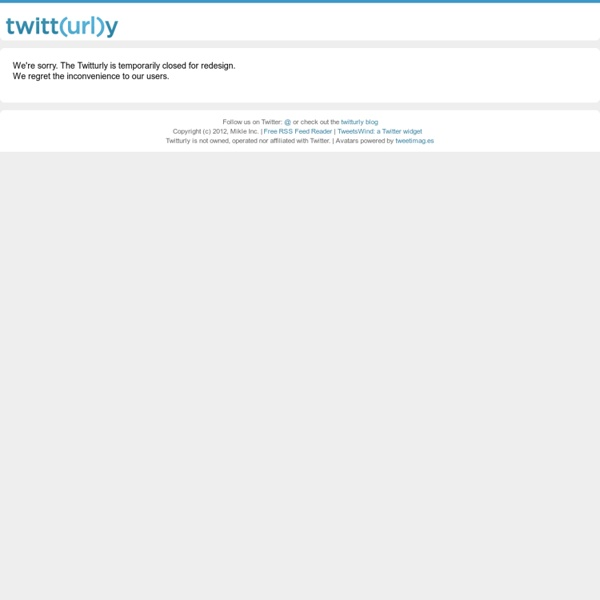 Twitturly - The Top Twitter Links, Real Time