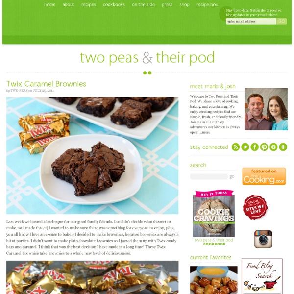 Twix Caramel Brownies | Pearltrees