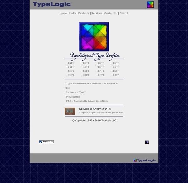 TypeLogic Home Page